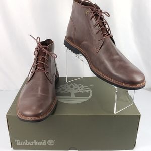 Timberland Lafayette Park Dark Brown Leather boots